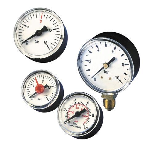 analoges Manometer / Rohrfeder / Messing / OEM
