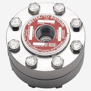 Membrandruckmittler mit Flanschanschluss / mit Gewindeanschluss / für Manometer