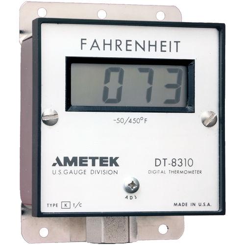 Thermometer mit Thermoelement / digital / Einbau / Edelstahl