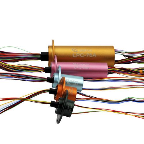 Kapsel-Schleifring / elektrisch / Ethernet / HD-SDI