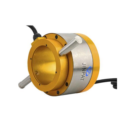 Schleifring zur Leistungs- und Signalübertragung / hydraulisch / Vibrationsverdichter / für Windkraftanlage