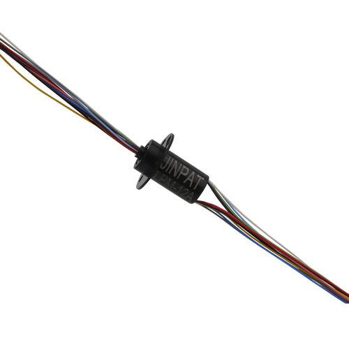 elektrischer Schleifring / für medizinische Geräte / 12 Schaltungen / für rauhe Umgebung