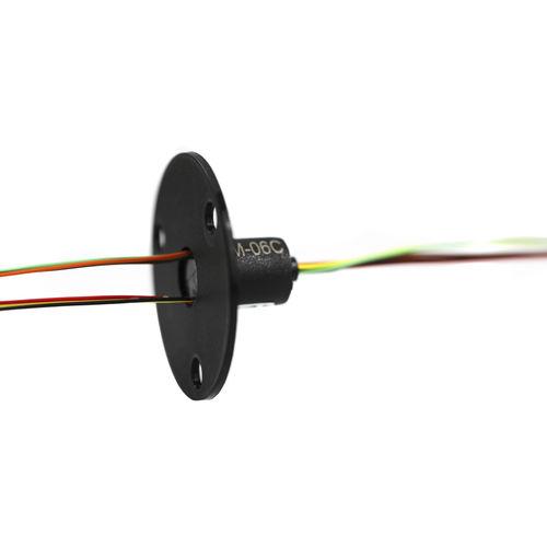 elektrischer Schleifring / Kapsel / für Meßgeräte / Miniatur