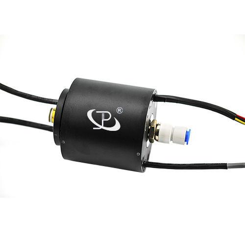 elektrischer Schleifring / Gigabit-Ethernet / Kapsel / Hohlwelle