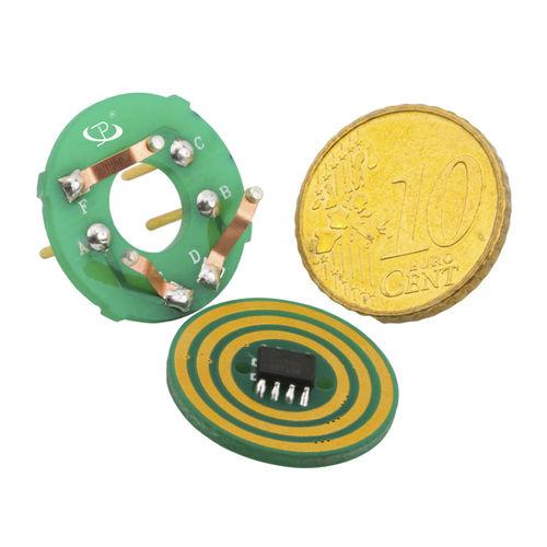 Schleifring zur Leistungs- und Signalübertragung / Pancake Typ / kundenspezifisch / kostengünstig
