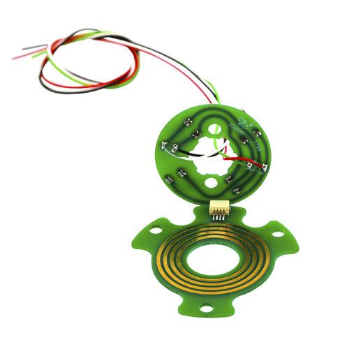 Schleifring zur Leistungs- und Signalübertragung / Pancake Typ / Metall / Modul