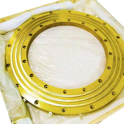 Schleifring zur Leistungs- und Signalübertragung / Pancake Typ / Metall / kundenspezifisch