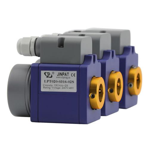Schleifring zur Leistungs- und Signalübertragung / Vibrationsverdichter / Kunststoff