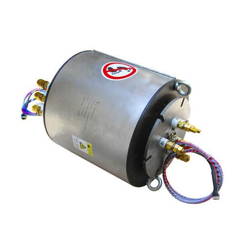 Schleifring zur Leistungs- und Signalübertragung / Ethernet / Vollwellen / für Seefahrtanwendungen