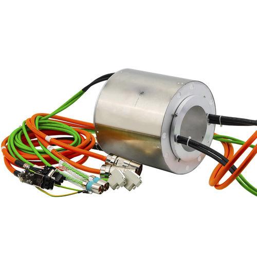 Schleifring zur Leistungs- und Signalübertragung / Vibrationsverdichter / für Industrieanwendungen / Edelstahl