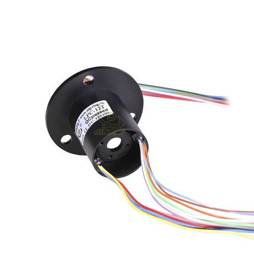 Schleifring zur Leistungs- und Signalübertragung / Kapsel / für medizinische Arbeiten / Standard