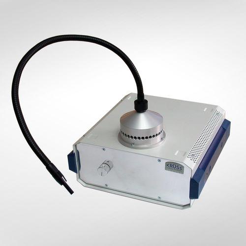 Lichtquelle mit Halogenlampe / weiß / Benchtop / Kaltlicht