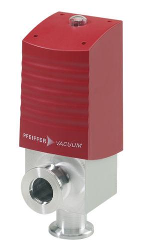 elektro-pneumatisches Ventil / Druckluft / Edelstahl / rechtwinklig