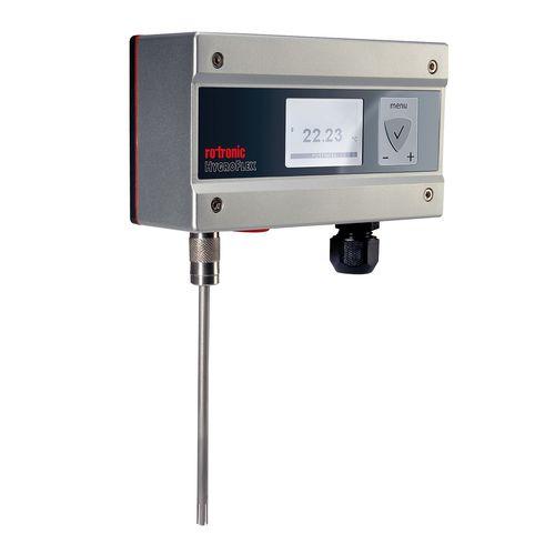 Temperaturmessumformer für Wandmontage / Pt100 / analog / Digital