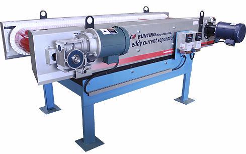ECS-Abscheider / Wirbelstrom / Metall / für online-Kontrolle BUNTING MAGNETICS