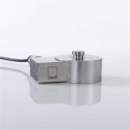 Druckkraft-Kraftaufnehmer / Hochpräzision / kompakt / platzsparend