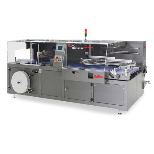 vollautomatische Schrumpffolienverpackungsmaschine / für Milchprodukte / für Flaschen / für Schalen