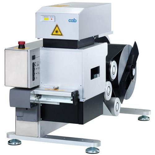 Lasermarkiergerät / für Etiketten / kompakt