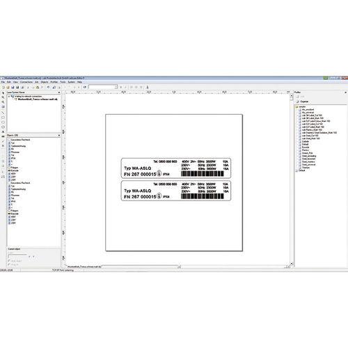 Überwachungssoftware / für Projektentwicklung / Bedien / Grafik