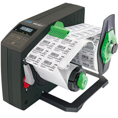 Etikettenspender / halbautomatisch / automatisch
