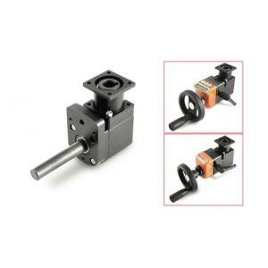 Kegelrad-Winkelgetriebe / 90° / Aluminium