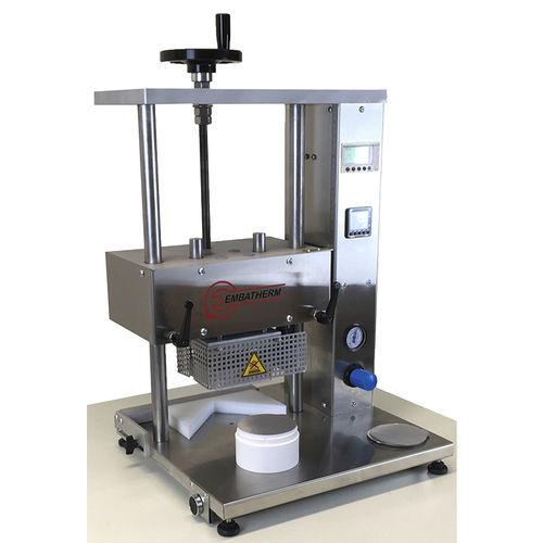 pneumatische Heißsiegelmaschine / manuell / für vorgeschnittene Öffnungen / per Induktion