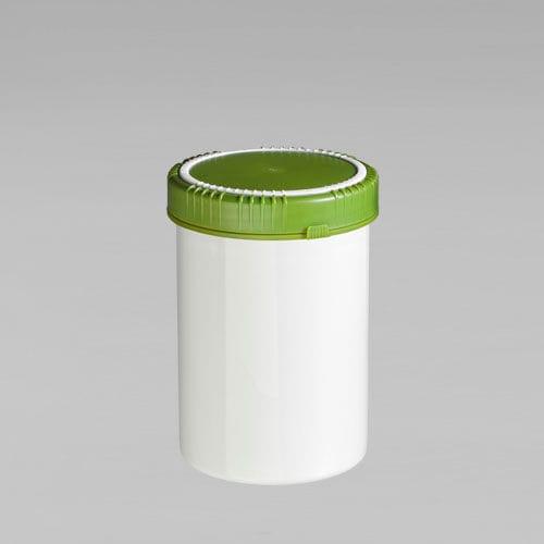 Verpackung für Lebensmittel / Kunststoff / für geringe Volumen / UN-homologiert