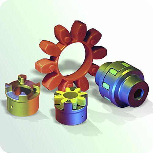 Klauenkupplung / Stahl / Aluminium / aus Gusseisen