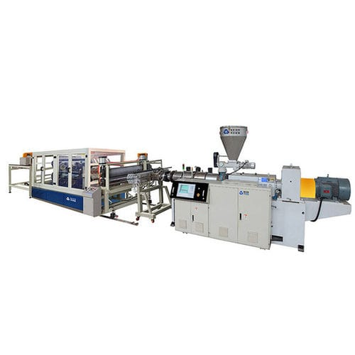 Plattenextrusionsanlage / für PVC / für PMMA / Mehrschicht