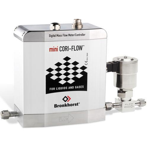 Massendurchflussmesser / Coriolis / für Flüssigkeiten / für Gas
