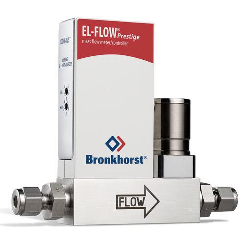 Massendurchflussmesser / thermisch / für Gas / mit Massendurchflussregler