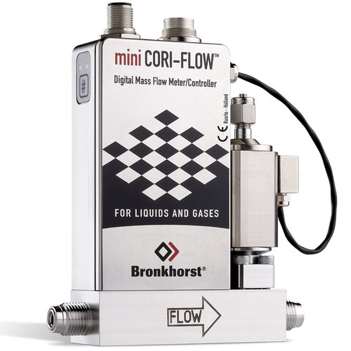 Coriolis-Durchflussmesser / Massen / für Flüssigkeiten / kompakt