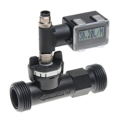 Vortex-Durchflussmesser / für Wasser / digital / kompakt