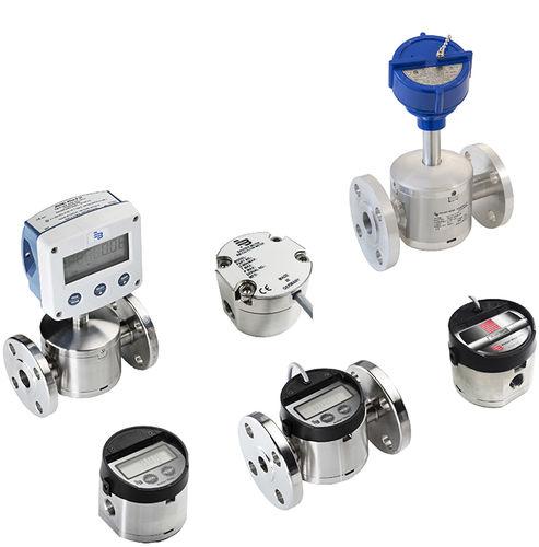 Ovalrad-Durchflussmesser / für korrosive Flüssigmedien / kostengünstig / kompakt