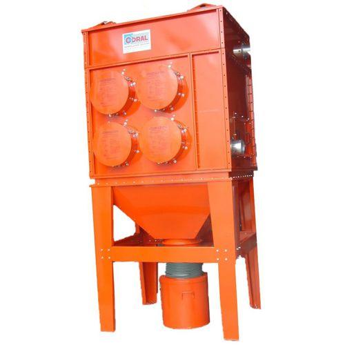 Patronenentstauber / pneumatische Abreinigung / mit hohem Wirkungsgrad