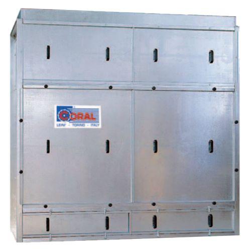 Aktivkohlefilteranlage / adsorbierend / Gas / Druckluft