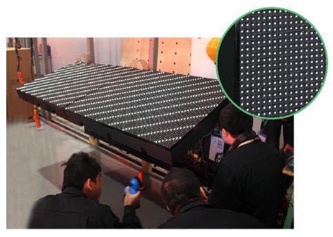 Punktmatrix-Displays / maßgefertigt / elektronisch / für Stadion Flip design/Anticollision/Refresh Rate/IP65 Yaham Optoelectronics Co., Ltd