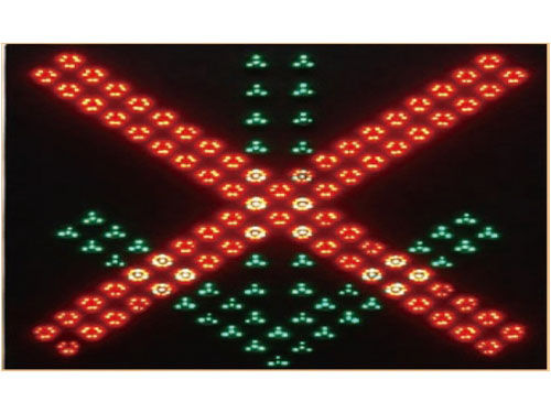 Displays zur Spurenkontrolle / LED / elektronisch traffic Control Sign/IP65(Typ.) IP67(Max.)  Yaham Optoelectronics Co., Ltd