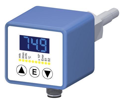 Massendurchflussmesser / Schwebekörper / thermisch / für Flüssigkeiten