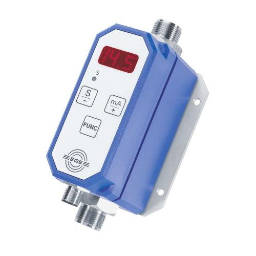 Vortex-Durchflussmesser / für Wasser / programmierbar / Inline
