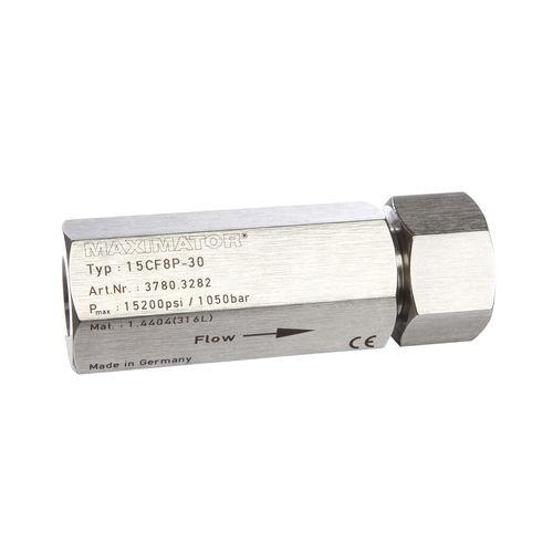 Gas-Filter / Scheiben / Gewinde / für Rohre