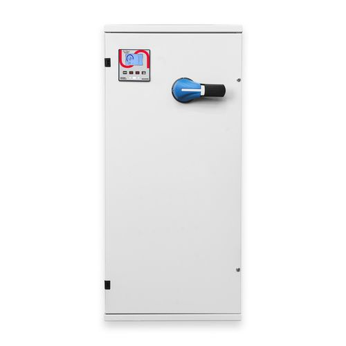 automatische Kondensatorbatterie / einphasig / bodenstehend / für Leistungsfaktorvorregler