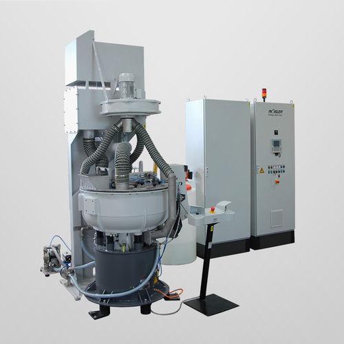 Trockenreinigungsanlage / halbautomatisch / Prozess / Entgrat