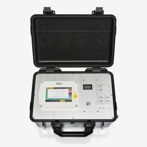 Luftanalysator / Durchfluss / Temperatur / Druck