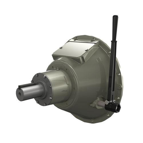 Schaltkupplung mit Scheibe / mechanisch / gelagert / Zapfwellen
