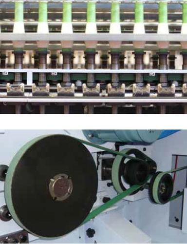 flacher Antriebsriemen / Thermoplast / Maschinen