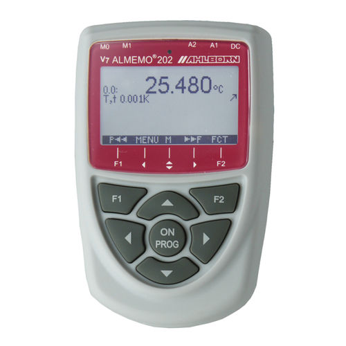 Temperaturmessgerät / tragbar / digital / mit Datenlogger