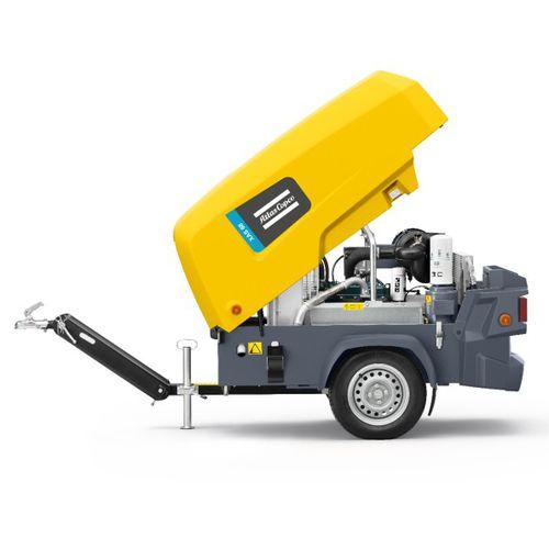Luftkompressor / mobil / dieselbetrieben / kleinformatig