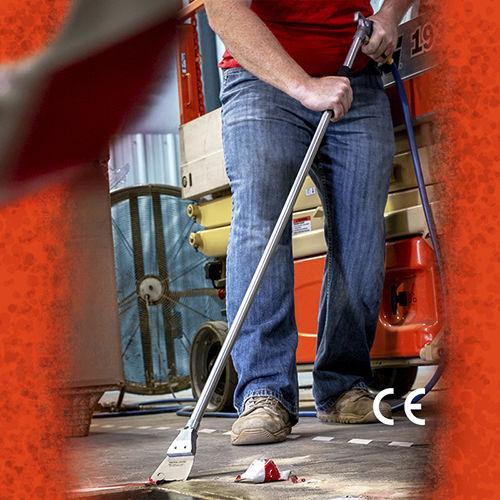 Reinigungs-Druckluftpistole / mit Verlängerung / mit Düse / für Industrieanwendungen