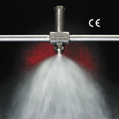 Spritzdüse / Luft / Außenmischung